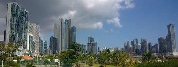 Vue depuis la Cinta Costera - Panama City