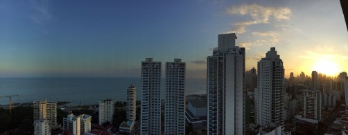 Coucher de soleil - Panama City