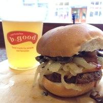 Burger et bières - b.good