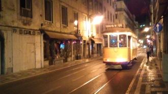Tram 28 la nuit